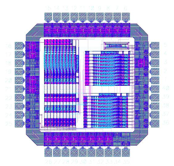 CMOS VLSI Design: 8-Bit Digital Butterworth Filter